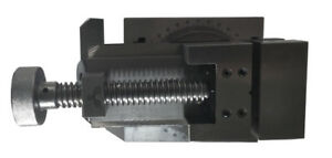 With 360 Degree Swivel Angle Plate Milling Vise Universal Opening 70 80mm