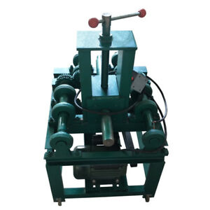 220v Electric Pipe Tube Bender With 15 Round Die Set Usseller New