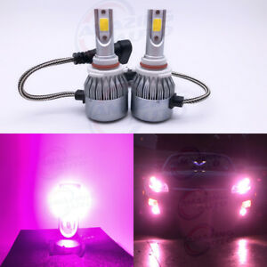New 2x 9005 Hb3 14000k Purple 8000lm Cree Led Headlight Bulbs Kit High Low Beam