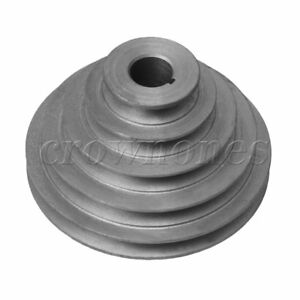 25mm Bore Od 56 150mm 5 Step Pagoda Pulley Timing Belt For A type V Belt