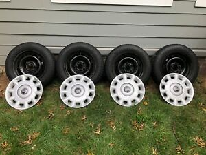 Volvo 185 65r15 Snow Tires Arctimax Winter And 15 Oem Steel Wheels covers