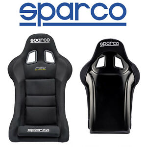 New Sparco Rev Competition Series Standard Racing Seat Light Wieght Fiberglass