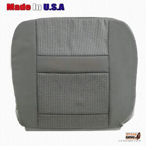 2006 2007 2008 Dodge Ram Driver Bottom Slate Gray Cloth Seat Cover Replacement