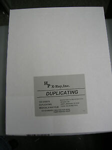 Kodak 11x14 White Box X ray Duplicating Film 100shts