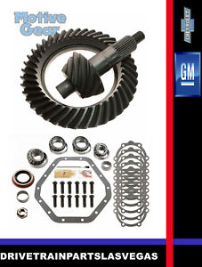 Gm Chevy 10 5 14 Bolt 4 10 Ratio Ring Pinion Gear Set Master Kit 1999 To 2010