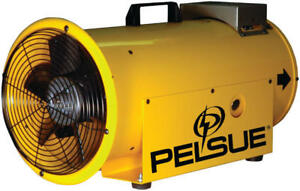 Pelsue 1590 New Heater Blower 45 000 Btus Axial Propane