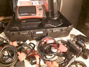 Snap On Solus Pro Eesc316 Diagnostic Scan Tool W Keys And Lots Of Extras In Case
