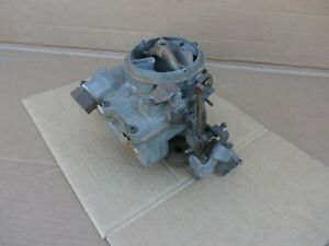 1962 1963 Pontiac 326 389 V8 2 Barrel Carburetor Catalina Lemans Tempest Carb Oe
