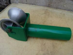 Greenlee 441 4 Cable Tugger Puller Feeding Sheave Great Shape 8