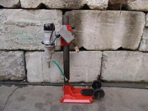 Diamond Products Core Drill Rig Bore 120 Volts Black Decker Works Great