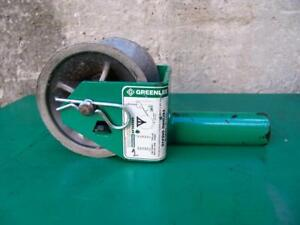 Greenlee 441 2 Cable Tugger Puller Feeding Sheave 1