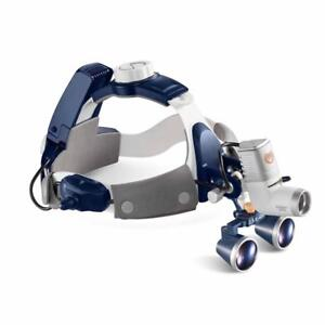 5w Led Dental Headlamp All in one Surgical Headlight With 2 5x420mm Magnifier
