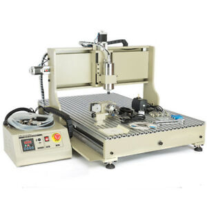 2 2kw Usb Cnc Router 6090 4 Axis Engraver Engraving For Metal Drilling Machine