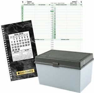24 hour 2 page per day Planner Refill Pocket Size