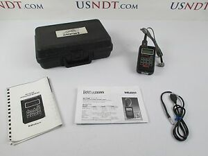 Stress tel T mike Es Thickness Gage Ultrasonic Flaw Detector Ndt Olympus
