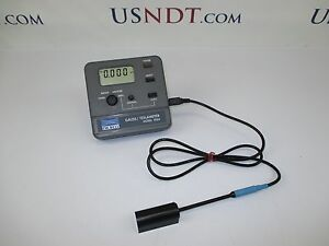 F W Bell 5060 Gauss Meter Ndt Magnetic Particle Inspection Magnaflux Penatrant