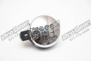 Replacement Eaton Fuller A4490 13 Speed Transmission Shift Knob Chrome Rt613