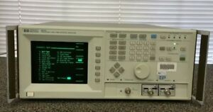 Hp Agilent 5371a Frequency Time Interval Analyzer With Option 60 Free Ship