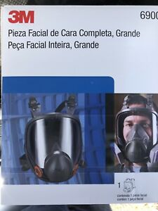 3m 6900 Full Face Respirator Sz Large New In Box