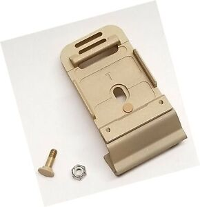 New Original US ARMY Issue - Mich ACH Helmet NVG Front Bracket Mount with Scr...
