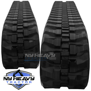 Two Rubber Tracks Fits Cat 301 4c 230x48x66 Free Shipping