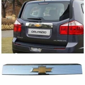 New Oem Parts Chrome Rear Trunk Molding For Chevrolet Orlando 2011