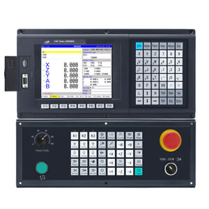 5 Axis Cnc Milling Controller For Router Machine G Code Control Panel Atc Plc
