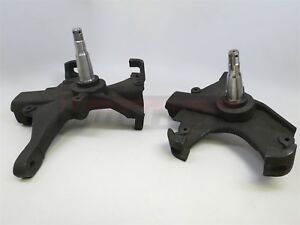 1958 1964 Chevrolet Impala Bel Air Biscayne 2 Drop Spindles Chevy Del Ray