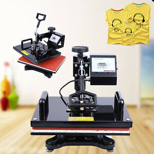 15 x12 Swing Away Digital Heat Press Transfer Machine Sublimation T shirt Print