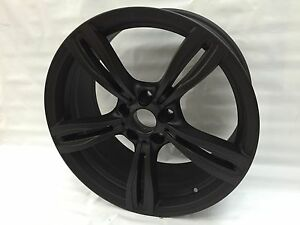 New 19 Bmw 550i 525i 528i 650i 640i Wheels Rims Black 2014 351