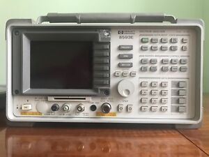 Hp Spectrum Analyzer 8593e With Probe 85024a Documentation And Case