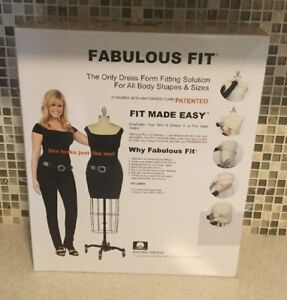 Fabulous Fit Dress Form Fitting System Small New In Box