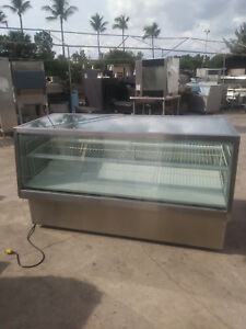 7542sc 2 High Volume Federal Refrigerated Bakery Case Includes Free Shipping