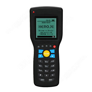 T5 Ean13 Upca e Wireless Barcode Laser Scanner Data Inventory Collector Terminal