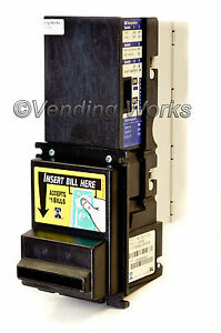 Mars Mei Vn2312 Bill Acceptor With Harnesses To Retrofit In Place Of Maka Nb16