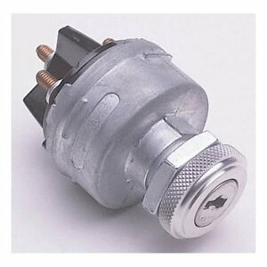 Ignition Switch With Keys Universal Jam Nut 2 Key Dash Mount Or Other Location