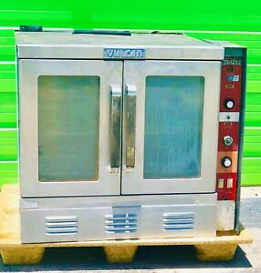 Vulcan Single Electric Commercial Convection Oven W Stand Bakery Pizza