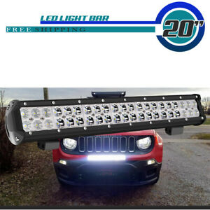 30inch Dual Row 3944w Curved Led Light Bar Combo For Truck Jeep Wrangler Suv 30