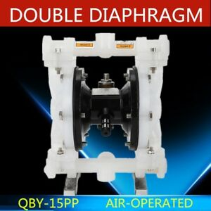 Qby 15pp Air operated Double Diaphragm Pump For Low Viscosity Petroleum Fluids
