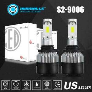 Ironwalls 9006 Hb4 Led Fog Light Bulb For Dodge Ram 1500 2500 3500 2013 2017 Cob