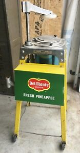 Very Cool Del Monte Pineapple Slicer Corer Restaurant Food Stand
