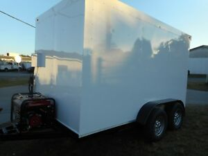 Refrigerated Walk In Cooler Trailer Custom 2018 12 X 7 X 7 5 Insulated All