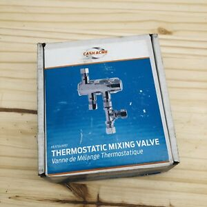 Cash Acme 25687 Thermostatic 3 8 tee And Mounting Mixing Valve Bracket