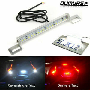 White Red 30 Smd Bolt On Led Lamps For License Plate Backup Reverse Brake Lights