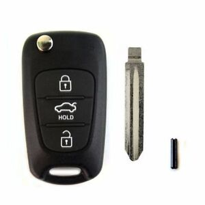 Keyless Entry Remote Control Folding Key For Oem Parts 2009 10 Forte Koup