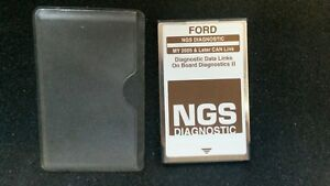 Ford Ngs Star Tester Pcmia Service Card Obd Ii Can Link 2005 Brown