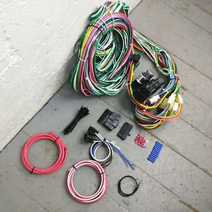 1936 1938 Dodge Wire Harness Upgrade Kit Fits Painless Fuse Complete Compact