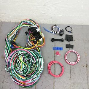 1941 1959 Ford Truck Wire Harness Upgrade Kit Fits Painless Circuit New Fuse