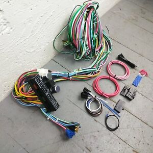 1962 1964 Plymouth Fury Wire Harness Upgrade Kit Fits Painless New Update Fuse