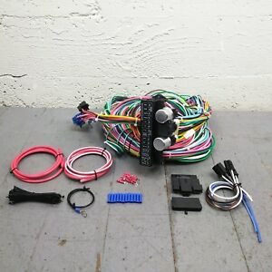 1965 1966 Ford Galaxie Wire Harness Upgrade Kit Fits Painless Terminal Fuse
